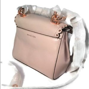ba87c74f8049 Michael Kors Bags - MICHAEL Kors Ava XS soft pink leather crossbody